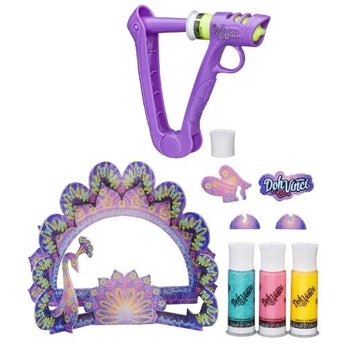 Set Plastilina DohVinci Sparkle Frame Kit, Hasbro