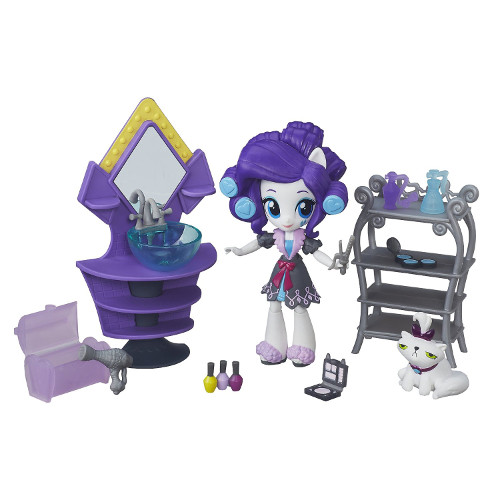 Hasbro - My Little Pony Equestria Girls - Camera de Infrumusetare a lui Rarity