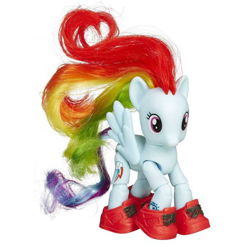 Hasbro - My Little Pony - Set Ponei Rainbow Dash Turista