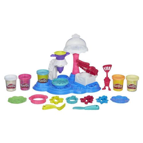 Set Plastilina Play-Doh Town - Petrecere cu Prajituri, Hasbro