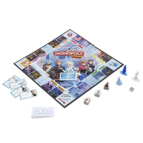 Joc de Societate Monopoly Junior Editia Frozen, Hasbro