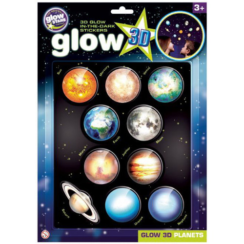 Stickere 3D - Planete, The Original Glowstars Company