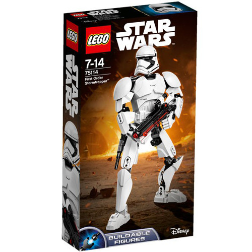 Star Wars - Figurina Stormtrooper Ordinul Intai 75114, LEGO