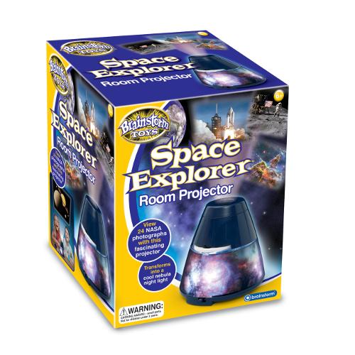 Proiector camera Imagini Spatiale Space Explorer, Brainstorm Toys