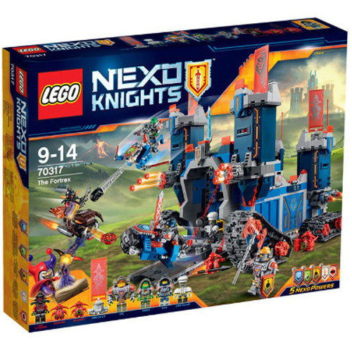 NEXO KNIGHTS- Castelul Fortrex 70317, LEGO