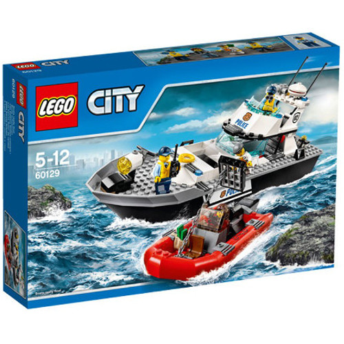 City - Nava de Patrulare a Politiei 60129, LEGO