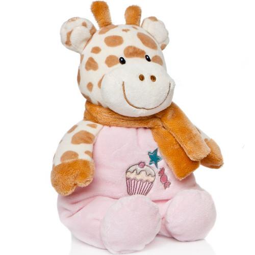 Artesavi - Plus Bebe Girafa 28 cm cu Zornaitoare
