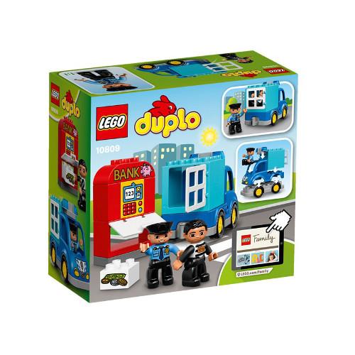 DUPLO - Patrula de Politie 10809, LEGO