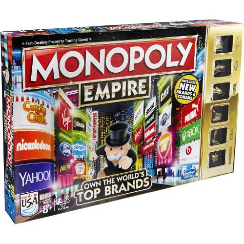 Joc de Societate Monopoly Empire Top Brands, Hasbro
