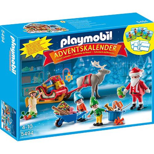 Calendar Craciun - Atelierul Lui Mos Craciun, Playmobil