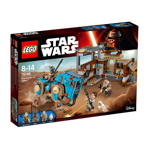 Star Wars - Confruntare pe Jakku 75148, LEGO
