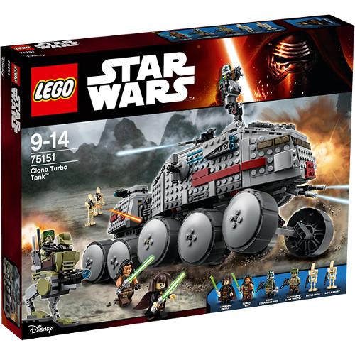 Star Wars - Clone Turbo Tank 75151, LEGO