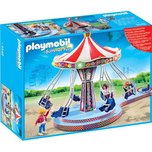 Summer Fun - Caruselul Din Parcul De Distractie, Playmobil