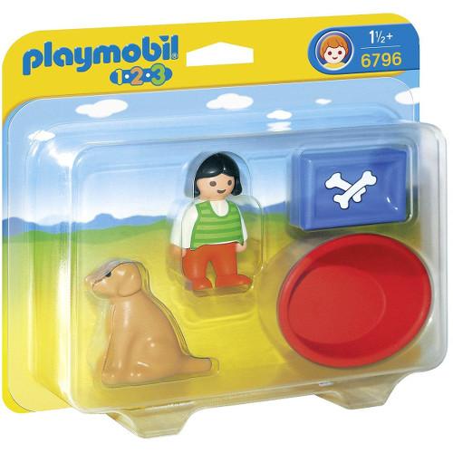 1.2.3 - Fetita Cu Catelusul, Playmobil