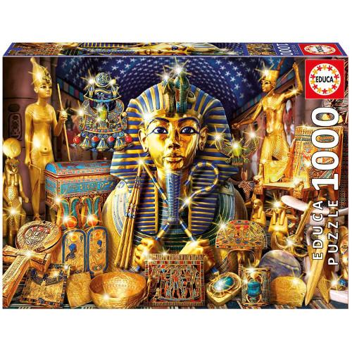 Puzzle 1000 Piese Comori din Egipt, Educa