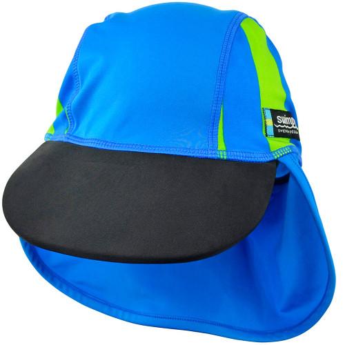 Sapca Sport Blue 4-8 ani Protectie UV, Swimpy