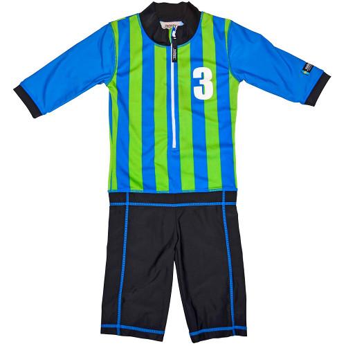 Costum de Baie Sport Blue Marime 92-104 Protectie UV, Swimpy