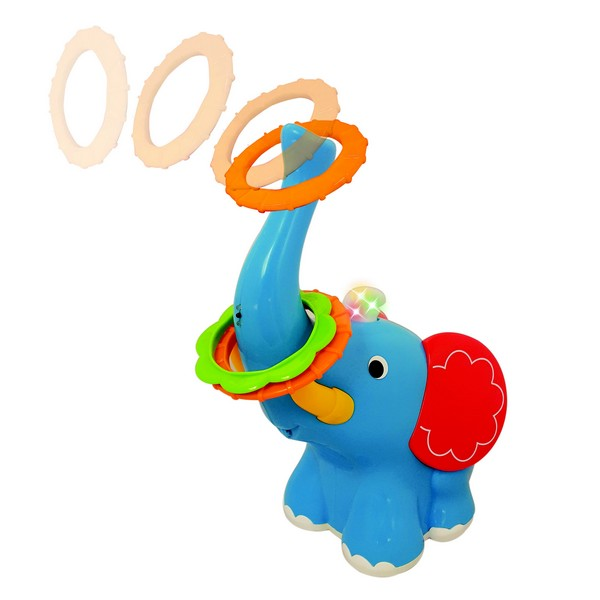 Jucarie Interactiva Playful Elephant Toss, Kiddieland