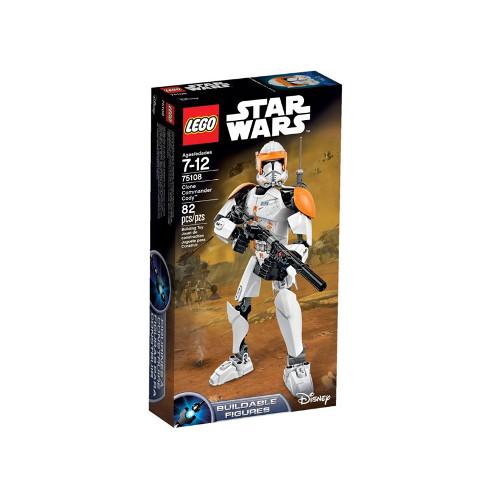 Star Wars - Figurina Clone Commander Cody 75108, LEGO