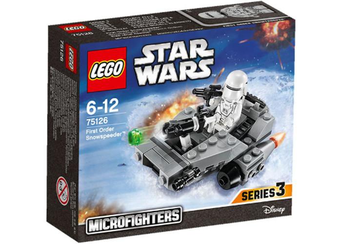 Star Wars - First Order Snowspeeder 75126, LEGO