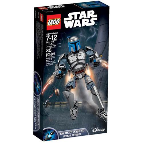 Star Wars - Figurina Jango Fett 75107, LEGO