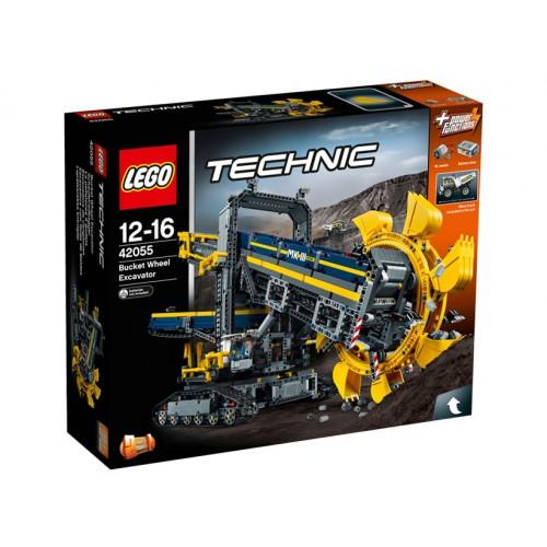 Tehnic - Excavator cu Roata Port Cupe 42055, LEGO