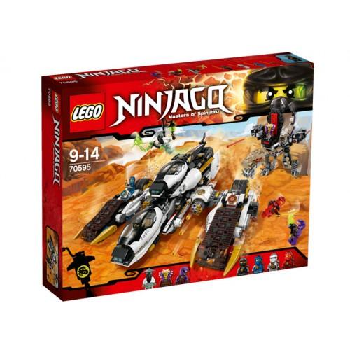 NINJAGO - Avion Invizibil pentru Incursiuni, LEGO