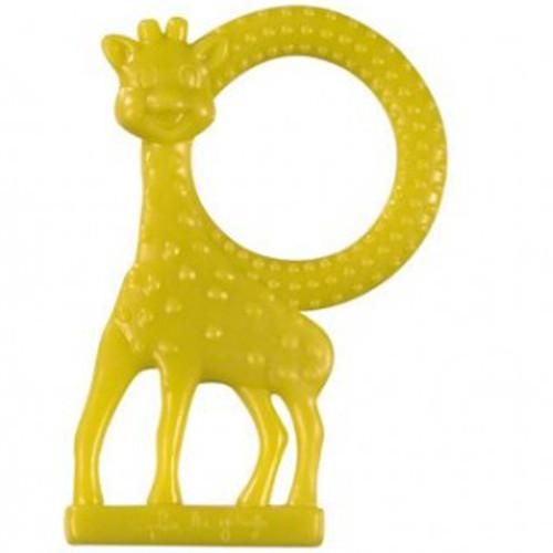 Vulli - Inel Dentitie cu Aroma de Vanilie Girafa Sophie Verde