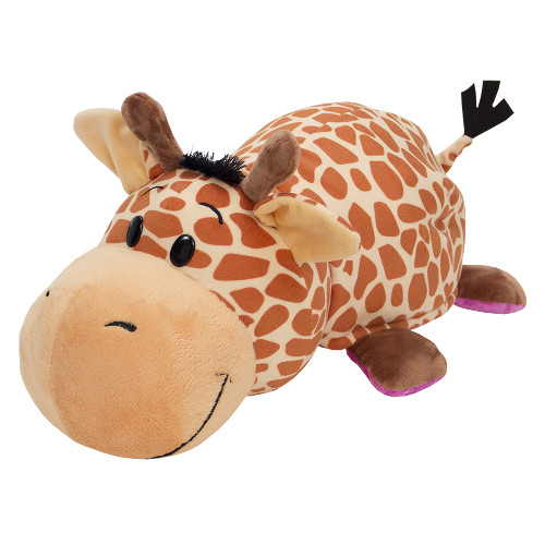 Mascota FlipaZoo 32 cm - Girafa si Hipopotam, Jay At Play