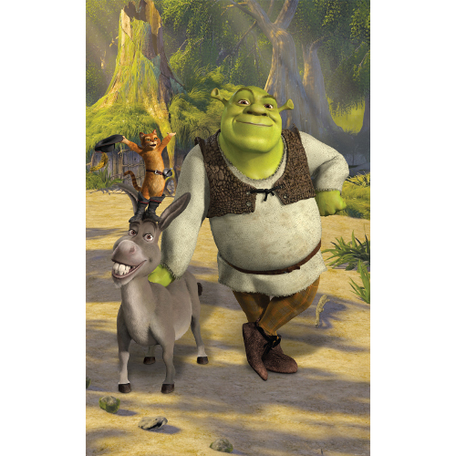 Tapet pentru Copii Shrek, Walltastic