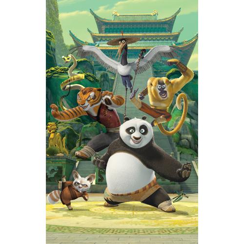 Tapet pentru Copii Kung Fu Panda, Walltastic