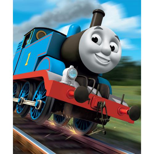 Tapet pentru Copii Locomotiva Thomas, Walltastic