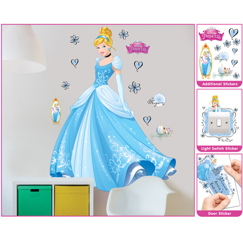 Sticker Mare Disney Princess Cenusareasa, Walltastic