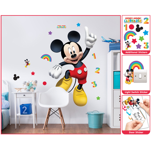 Sticker Mare Mickey Mouse, Walltastic