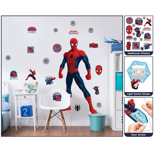 Sticker Mare Spiderman, Walltastic