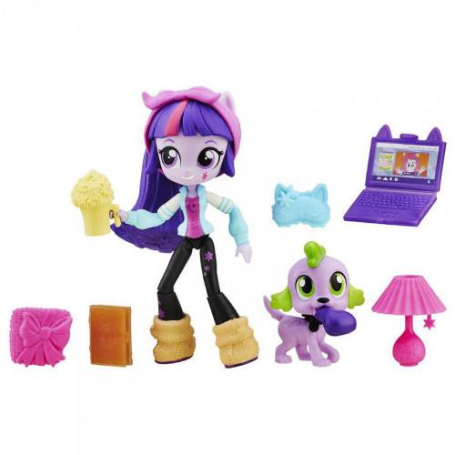 Hasbro - Set My Little Pony - Twilight Sparkle si Petrecerea in Pijamale