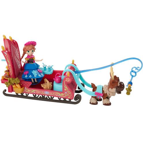 Frozen - Set de Joaca cu Figurina Anna, Hasbro