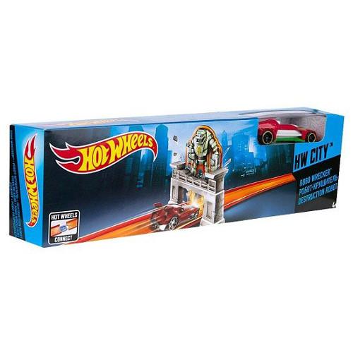 Hot Wheels - Pista Robo Wrecker, Mattel