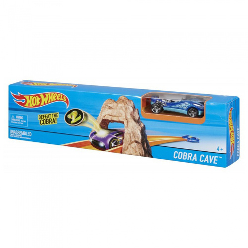 Hot Wheels - Pista Cobra Cave, Mattel