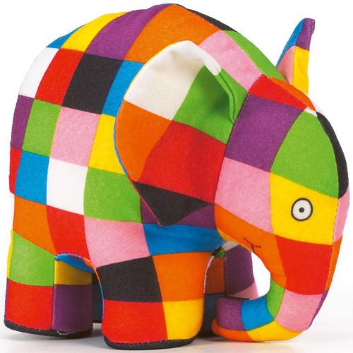 Elmer - Jucarie din Plus 15cm, Rainbow Design