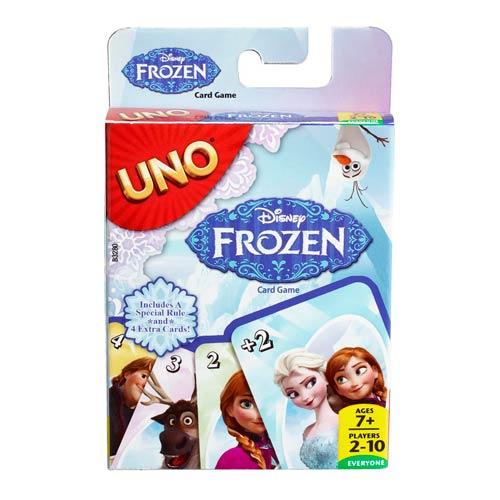 Joc UNO Frozen, Mattel