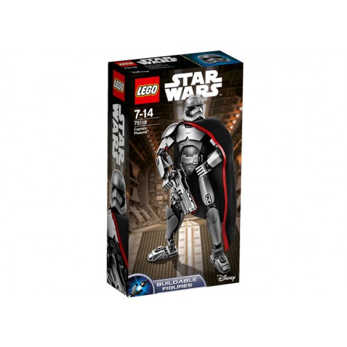 Star Wars - Figurina Captain Phasmatm 75118, LEGO