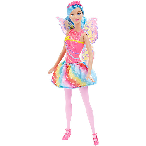Papusa Barbie Fairy Rainbow, Mattel