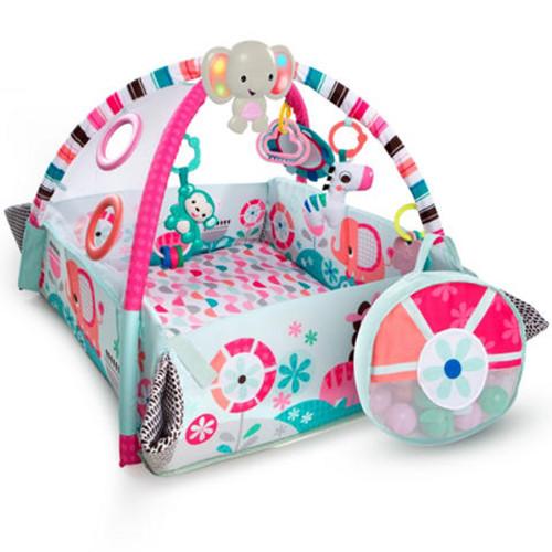 Salteluta de Activitati 5in1 Your Way Ball Pink, Bright Starts