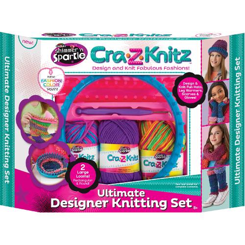 Kit de Crosetat Ultimate Designer Cra-Z-Knitz, Cra-Z-Art