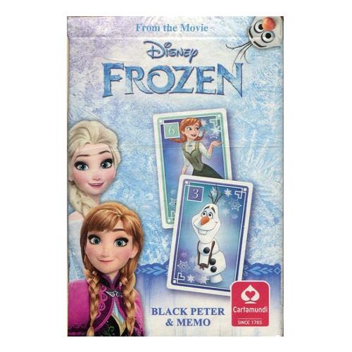 Carti de Joc Memo Disney Frozen, Cartamundi