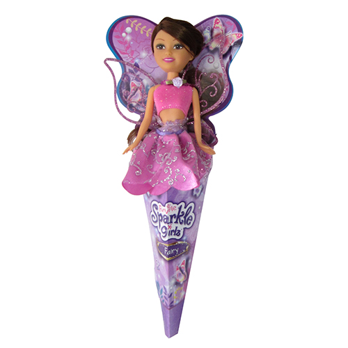 Papusa Sparkle Girlz Fairy Bruneta, Funville
