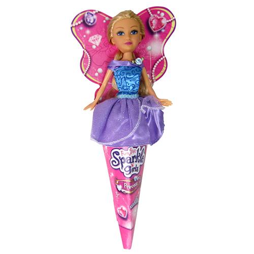 Papusa Sparkle Girlz Princess Blonda, Funville