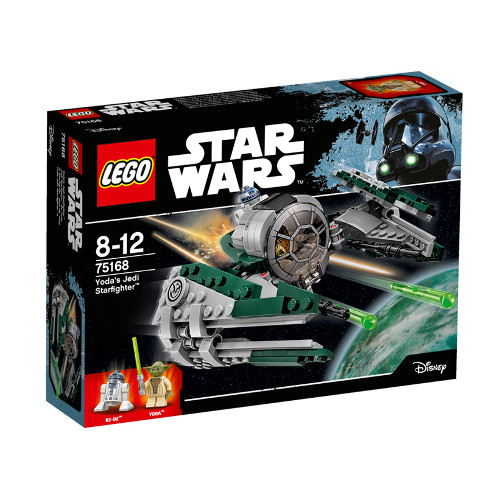 Star Wars - Yoda\'s Jedi Starfighter 75168, LEGO