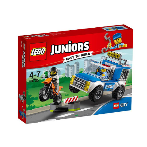 Juniors - Urmarire cu Camionul de Politie 10735, LEGO